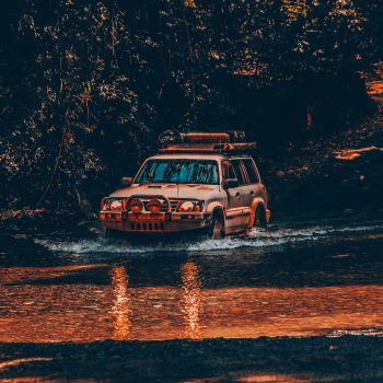 diesel tuning Coolum - SUV crossing a river