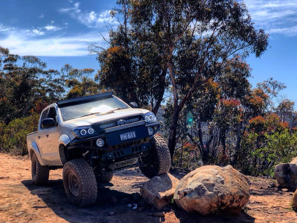 Diesel Performance Tuning - UTE riding over rocks