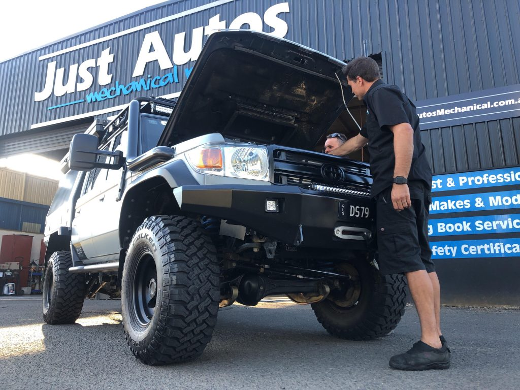 Dyno Tuning - Just Autos workshop in Nambour