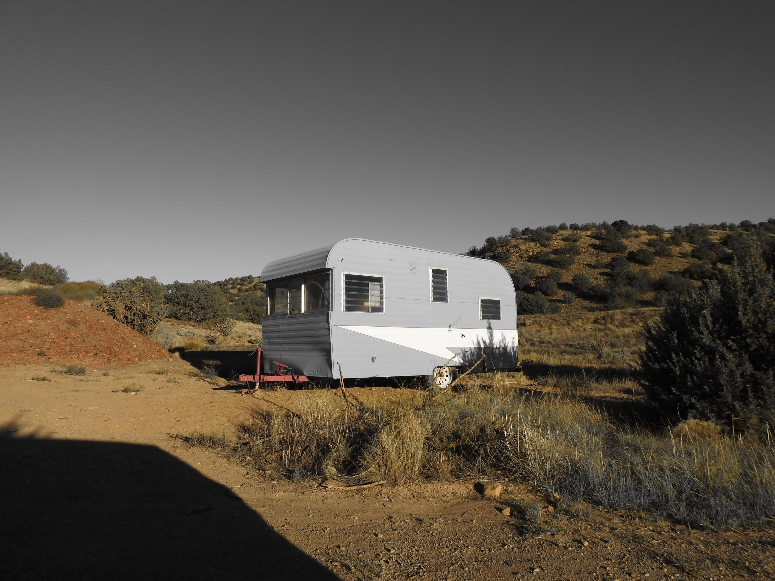 Towing A Trailer: Top Tips and Upgrade Opportunities - gray caravan parked in wilderness